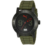 Damen-Armbanduhr Analog Quarz Kautschuk PU103571005