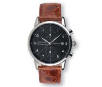 Herren-Armbanduhr Chronograph Quarz Silikon FA-1035-03