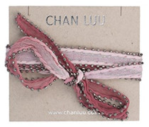 Damen Halskette aus Choker Nicht Metall - TH-NK-8657 Rose Smoke