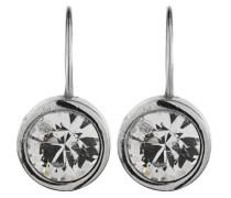 Damen-Ohrstecker Icons Louise Ss Messing gebürstet Kristall transparent Prinzess - 316401