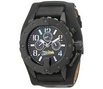 Herren-Armbanduhr Analog Quarz Leder 8500209