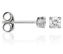 Damen-Ohrstecker 18 Karat (750) Weigold Diamant wei OD-5324
