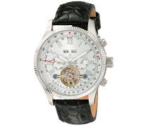 Armbanduhr für Herren mit Analog Anzeige, Automatik-Uhr und Lederarmband - Wasserdichte Herrenuhr mit zeitlosem, schickem Design - klassische Uhr für Männer - BM330-112 Malabo