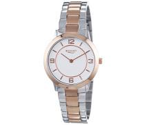 Damen-Armbanduhr XS Analog Quarz Edelstahl beschichtet 12230620