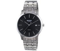 Boccia Herren-Armbanduhr XL Analog Quarz Titan 3582-02