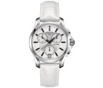 Certina Damen-Armbanduhr Chronograph Quarz Leder C004.217.16.036.00