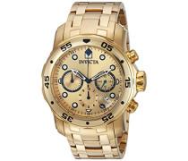 Invicta Herren-Armbanduhr Quarz Chronograph 0074
