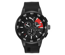 Herren Armbanduhr Chronograph Quarz Plastik PU104161001