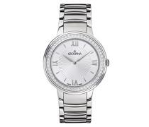 Damen-Armbanduhr Analog Quarz Silber 2099.7132