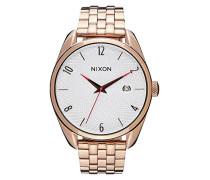 Nixon Unisex-Armbanduhr Bullet Analog Quarz Edelstahl A4182183-00