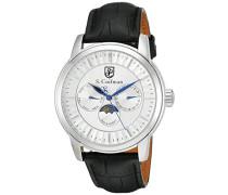 Herren- Armbanduhr Analog Quarz SC02 10