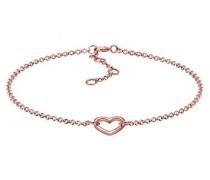 Damen-Armband Herz 925 Silber 17 cm - 0202331517_17