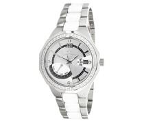 Damen-Armbanduhr Analog Quarz Premium Keramik Diamanten - ST5656-SM