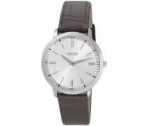 Herren-Armbanduhr XL Tendencies Swiss Made Analog Quarz Leder JP100691S02