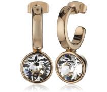 Damen-Creolen Vergoldetes Metall Kristall 335438