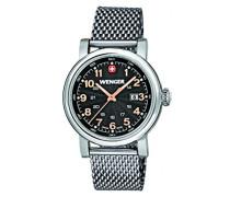 Wenger Damen-Armbanduhr XS Urban Classic Analog Quarz Edelstahl 01.1021.106