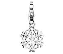 JC99A166  Damen-Charm Schneeflocke Sterling-Silber 925/1000