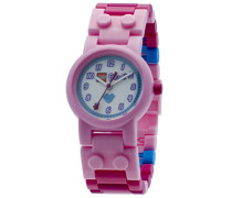 LEGO Unisex-Armbanduhr Friends Stephanie Analog Quarz Plastik 8020172