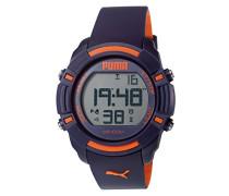 Herren-Armbanduhr Sixty Bytes Digital Quarz Plastik PU911221002