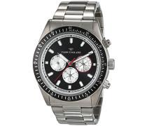 TOM TAILOR Herren-Armbanduhr Analog Quarz Edelstahl 5414201