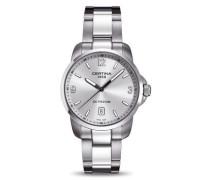 Certina Herren-Armbanduhr XL Analog Quarz Edelstahl C001.410.11.037.00
