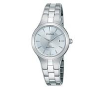 Pulsar Damen-Armbanduhr XS Quarz Analog Quarz Edelstahl PH7415X1