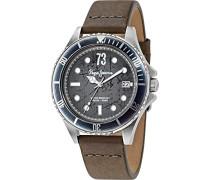 Pepe Jeans Herren-Armbanduhr Brian Analog Quarz Leder R2351106009