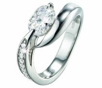 Pierre Cardin Damen-Ring Etoile Filante Sterling-Silber 925 Gr. 58 (18.5) PCRG90307A180
