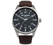 Ben Sherman Herren-Armbanduhr Carnaby Outdoor Analog Quarz Textil WB031BR