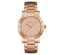 Caravelle New York Damen-Armbanduhr NEW BOYFRIEND Analog Quarz Edelstahl beschichtet 44L201