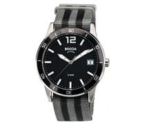 Boccia Herren-Armbanduhr Analog Quarz Textil 3594-01