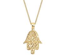Goldhimmel Damen-Halskette Silber vergoldet 015271667_45