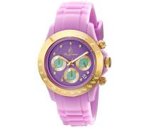 Damen-Armbanduhr Chronograph Quarz Silikon BM514-990A