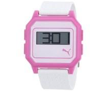Puma Time Active Damen-Armbanduhr Flat Screen Digital Plastik A.PU910951006