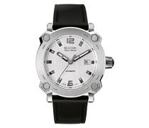 Herren-Armbanduhr Analog Automatik Leder 63B191