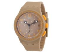 Unisex-Armbanduhr Chrono Plastic CRAZY NUT Chronograph Silikon SUSC400