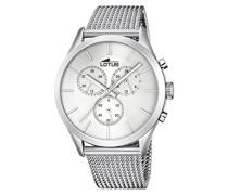 Herren-Armbanduhr Analog Quarz Edelstahl 18117/1
