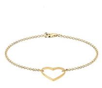 Damen-Armband Herz 925 Silber 18 cm - 0202920615_18