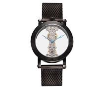 Burgmeister Herren-Armbanduhr Analog Handaufzug Edelstahl beschichtet BM331-602B