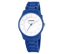Damen-Armbanduhr Analog Quarz Plastik K5671/6