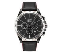 Herren-Armbanduhr CONERO Analog Quarz Leder CRA126SB02BK