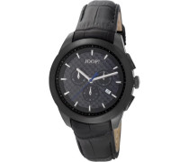 Herren-Armbanduhr XL Legend Chronograph Quarz Leder JP101071F07