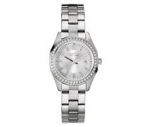 Caravelle New York Damen-Armbanduhr PERFECTLY PETITE Analog Quarz Edelstahl 43M108