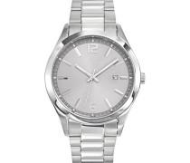 –616298–Zeigt Herren-Armbanduhr 1076312Analog Stahl Silber