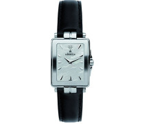 -Newport Yacht Club Women'Armbanduhr Analog-Anzeige und schwarzem Lederarmband 174 56 (DE) 19/N