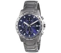 Regent Herren-Armbanduhr XL Analog Quarz Titan 11090328