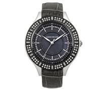 Damen-Armbanduhr Analog Quarz Leder KM102BBX