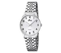 Damen-Armbanduhr XS Analog Quarz Edelstahl 15884/1