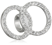 Damen-Anhänger Charming Versilbert Kristall transparent Rundschliff - 471616030