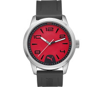 Puma Herren-Armbanduhr Man Rush Analog Quarz PU104041002